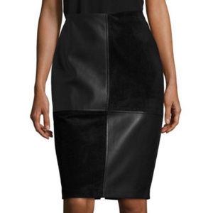 Ivanka Trump Pencil Skirt Patchwork Wonderland New